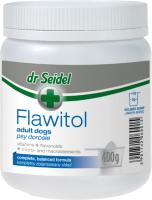 Кормовая добавка для животных Dr Seidel Flawitol Здоровая кожа и красивая шерсть для собак (400г) -