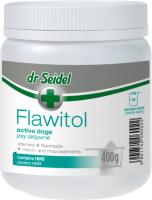 Кормовая добавка для животных Dr Seidel Flawitol для активных собак с HMB (400г) -