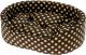 Лежанка для животных Ferplast Dandy 45 Cotone / 82941083 (горох на черном) -