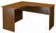 Письменный стол ТерМит Арго А-204.60 левый (орех) -