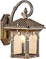 Светильник уличный Elektrostandard Corvus D GL 1021D (черное золото) -