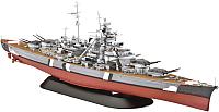 Сборная модель Revell Немецкий линейный корабль Bismarck 1:700 / 05098 -