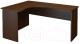 Письменный стол ТерМит Арго А-206.60 левый (дуб венге) -