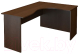 Письменный стол ТерМит Арго А-206.60 правый (дуб венге) -