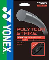 Струна для теннисной ракетки Yonex Polytour Strike 125 SET (12м, черный) -