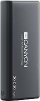 Портативное зарядное устройство Canyon CNS-CPBP20B (черный) -