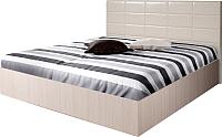 Полуторная кровать Мебель-Парк Аврора 2 200x140 (светлый) -