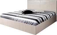 Полуторная кровать Мебель-Парк Аврора 4 200x140 (светлый) -