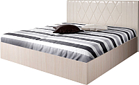 Полуторная кровать Мебель-Парк Аврора 6 200x140 (светлый) -