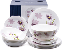 Набор тарелок Luminarc Diwali dream grass / P7082 -