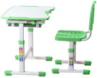Парта+стул FunDesk Sole (зеленый) -