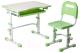 Парта+стул FunDesk Vivo (зеленый) -