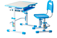 Парта+стул FunDesk Vivo (голубой) -