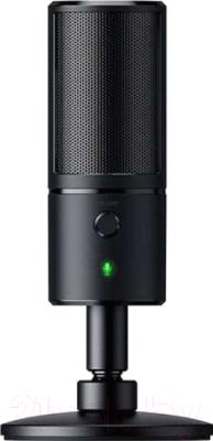 Микрофон Razer Seiren X (RZ19-02290100-R3M1) микрофон razer seiren x черный [rz19 02290100 r3m1]