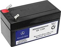 Автомобильный аккумулятор Mercedes-Benz N000000004039 (1.2 А/ч) -