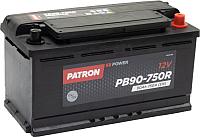 Автомобильный аккумулятор Patron Power PB90-750R (90 А/ч) -