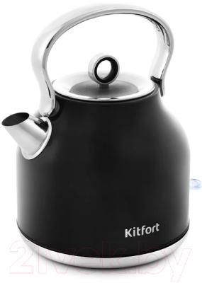 Электрочайник Kitfort KT-671-2 (черный)