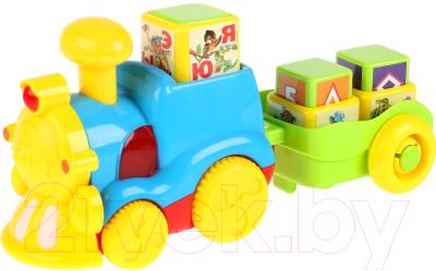 Развивающая игрушка Умка Обучающий паровоз / WD3708-R