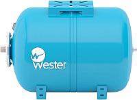 Мембранный бак Wester WAO 100 горизонтальный -