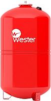 Мембранный бак Wester WRV 100л (для отопления) -