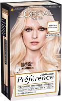 Гель-краска для волос L'Oreal Paris Preference Platinum Ультраблонд (8 тонов осветления) -