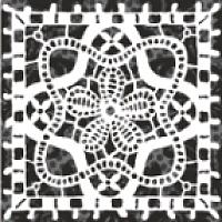 Вставка Керамин Органза 5 (98x98) -