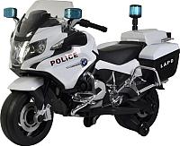 Детский мотоцикл Chi Lok Bo BMW R 1200 RT-P 212 (белый/черный) -