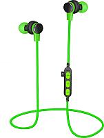 Беспроводные наушники Platinet PM1061G + microSD (зеленый) -