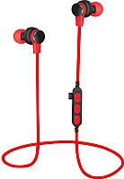 Беспроводные наушники Platinet PM1061R + microSD (красный) -
