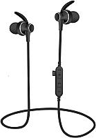 Беспроводные наушники Platinet Sport PM1060B + microSD (черный) -