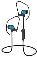 Беспроводные наушники Platinet Sport PM1062BL + microSD (черный/синий) -