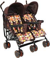 Детская прогулочная коляска Bambola Pallino / HP-306S (кофейный) -