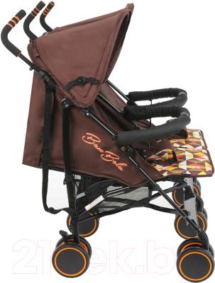 Детская прогулочная коляска Bambola Pallino / HP-306S (кофейный)