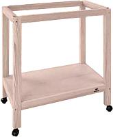 Подставка для клетки Ferplast Sumet Wood 63 / 90039020 (деревянная, серый/бежевый) -