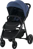Детская прогулочная коляска Babyzz Rally / GM01 (джинс) -
