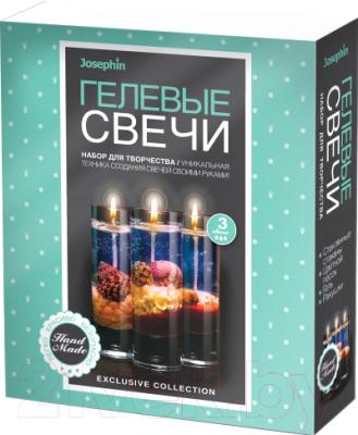 Набор для изготовления свечей Фантазер Гелевые свечи №2 / FN-274037