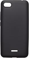 Чехол-накладка Volare Rosso Soft-touch силиконовый для Redmi 6A (черный) -