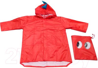 Дождевик Bradex Дракон DE 0489 (L, красный)