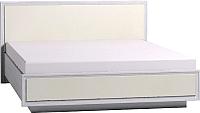 Двуспальная кровать Глазов Paola 306 Люкс с ПМ 180x200 (ясень анкор светлый) -