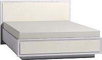 Двуспальная кровать Глазов Paola 307 Люкс с ПМ 160x200 (ясень анкор светлый) -