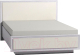 Полуторная кровать Глазов Paola 308 Люкс с ПМ 140x200 (ясень анкор светлый) -