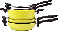 Набор кухонной посуды Oursson CS2405A/GA -