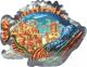 Пазл DaVICI Обитаемая рыба / 7-01-04-130 -