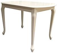Обеденный стол Аврора Прага 110x70 (тон 10/слоновая кость) -