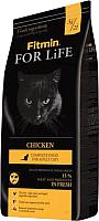 Корм для кошек Fitmin For Life Chicken (1.8кг) -