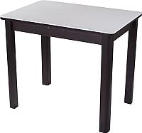 Обеденный стол Домотека Румба ПР-М 60x88-125x75 (белый/венге/04) -