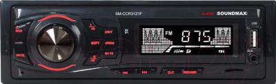Бездисковая автомагнитола SoundMax SM-CCR3121F