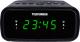 Радиочасы Telefunken TF-1588 (черный/зеленый) -