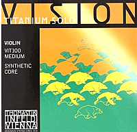Струны для смычковых Thomastik Vision Titanium Solo VIT100 -