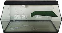 Акватеррариум eGodim Rio (200л, черный) -